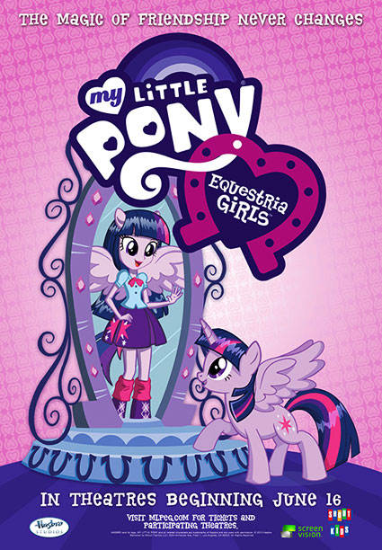 My Little Pony: Equestria Girls Movie Poster Revealed & Trailer Review
