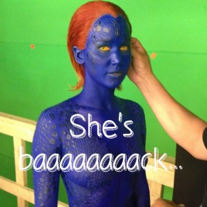 Jennifer Lawrence: First Look of Mystique, X-Men: Days of Future Past
