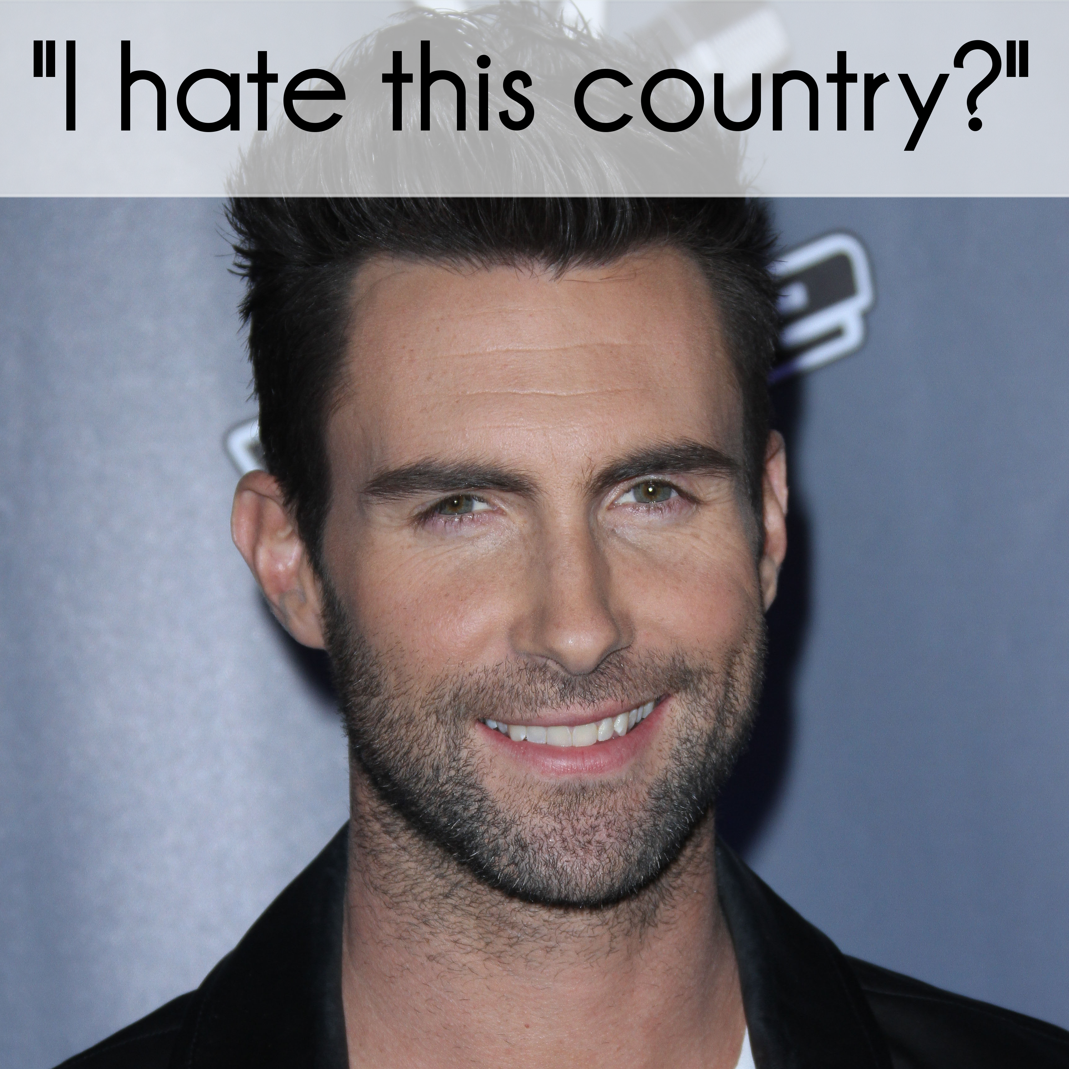 "Adam Levine Says ""I Hate This Country"" During The Voice Eliminations"