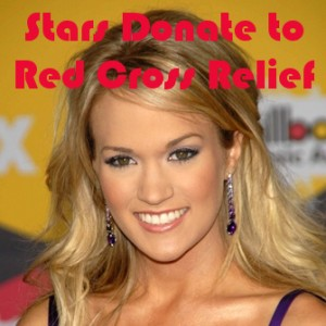 Carrie Underwood, David Spade & Kevin Durrant Donate to Red Cross Aid