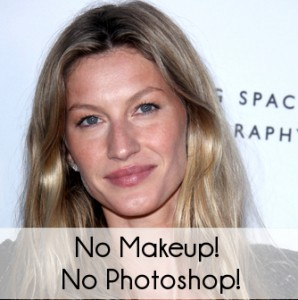 Gisele Bundchen: New Spokesmodel for BLK DNM & Natural Photo Shoot
