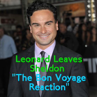"The Big Bang Theory: ""The Bon Voyage Reaction"" Preview, Leonard Leaves"