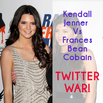 Kendall Jenner & Frances Bean Cobain Twitter Feud: Hilarious or Sad?