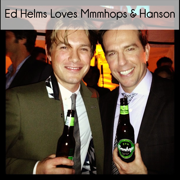 Hanson Debuts Their New Beer Mmmhops in The Hangover Part III Premiere