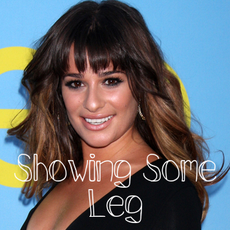 Thigh-High Dresses at Cannes & Lea Michele's SAG Dress Malfunction