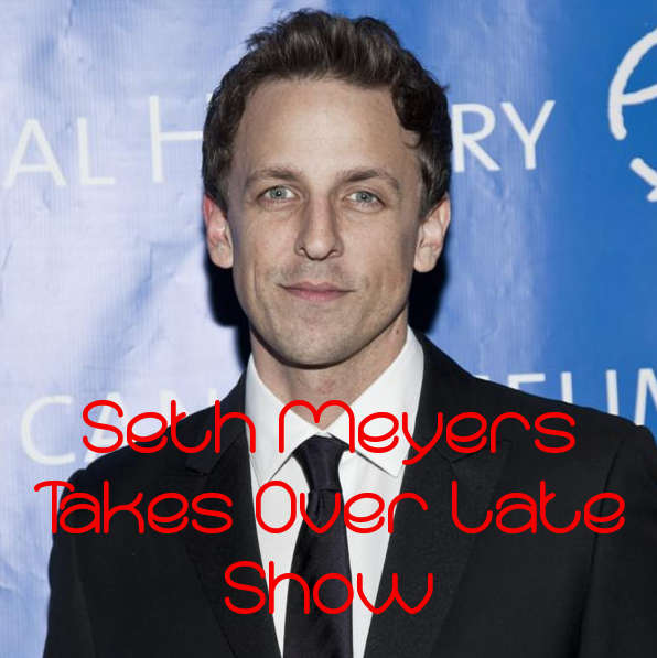 Seth Meyers Takes Over Late Night, Jimmy Fallon Takes The Tonight Show