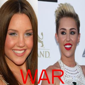 "Miley Cyrus & Amanda Bynes Twitter War Continues, ""U R Ugly"""