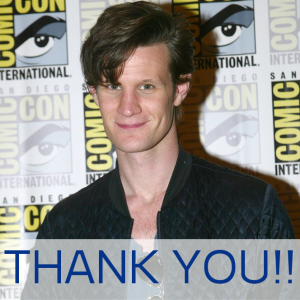 Doctor Who's Matt Smith Sends Personal Thank You To Whovians & Fans CarlaVanWagoner / Shutterstock.com