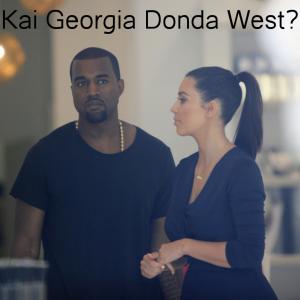 Kim Kardashian & Kanye West Baby Name: Kai Georgia Donda West? Joe Seer / Shutterstock.com