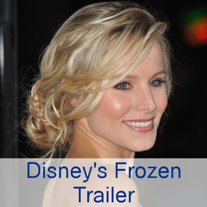 Disney Releases Frozen Trailer, Kristen Bell Gets Animated in November