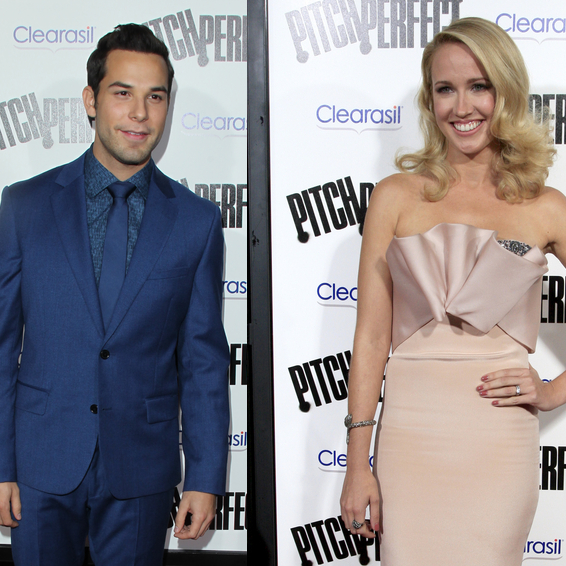 Pitch Perfect Co-Stars Skylar Astin & Anna Camp Dating Rumors