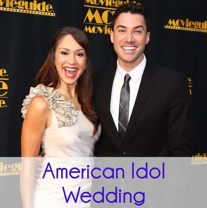 American Idol's Diana DeGarmo & Ace Young Married, DIY Wedding Ideas