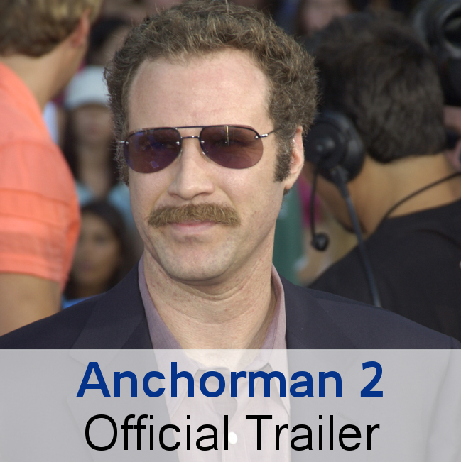 Anchorman 2 Official Trailer: James Marsden, Brick's Wife & Racism