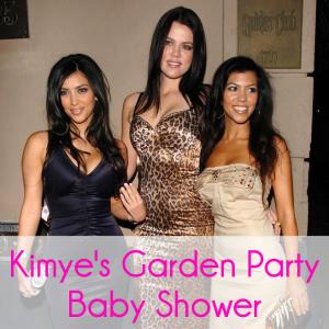Kim Kardashian Hosts Ladies Brunch Baby Shower With Garden Party Theme