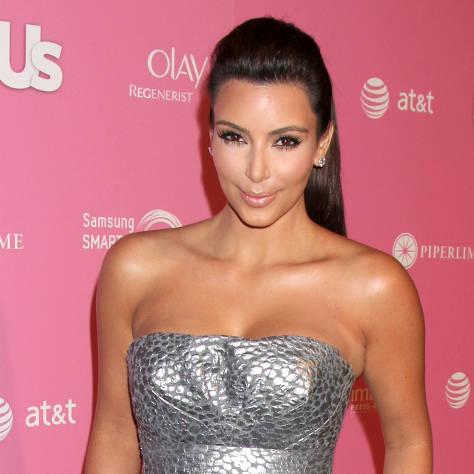 Kim Kardashian Loves Breast-Feeding & Taking To Being Natural Mom