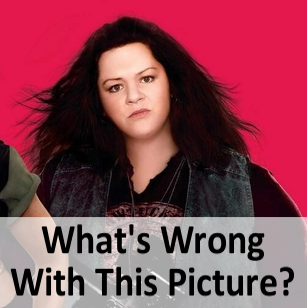 Melissa McCarthy The Heat Poster Photoshopped & Beyonce Without Curves