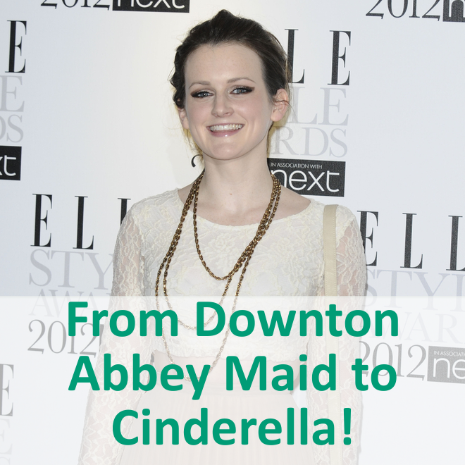 Downton Abbey Sophie McShera Joins Disney Live Action Cinderella Cast