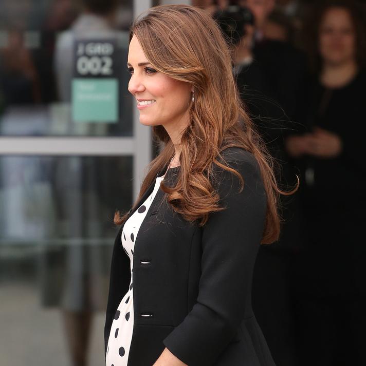 Kate Middleton Prepares To Give Birth