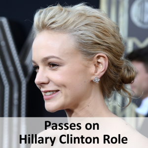 Carey Mulligan Passes on Role as Hillary Clinton in Rodham Biopic Debby Wong / Shutterstock.com