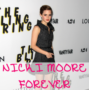 Emma Watson Created Tumblr, Nicki Moore Forever, for The Bling Ring  s_bukley / Shutterstock.com