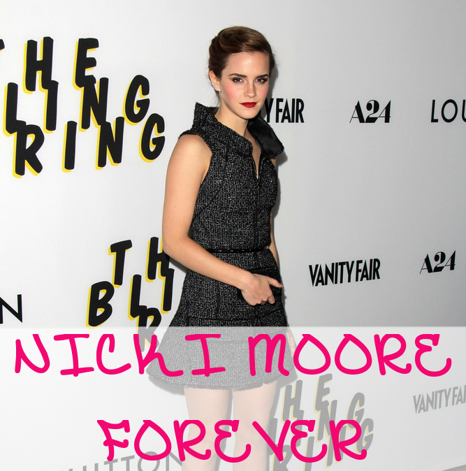 Emma Watson Created Tumblr, Nicki Moore Forever, for The Bling Ring