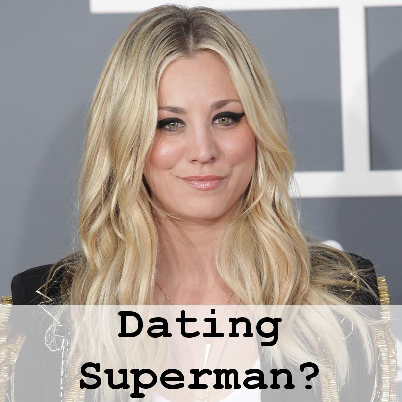 Big Bang Theory's Kaley Cuoco Dating Man of Steel Henry Cavill?
