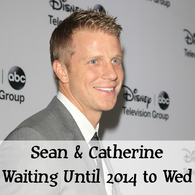 Sean Lowe & Catherine Giudici Postpone Summer 2013 Wedding