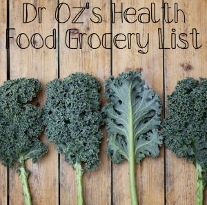 Dr Oz Grocery List: Kale, Lesser Evil Chia Crisps, Bee Pollen Yogurt