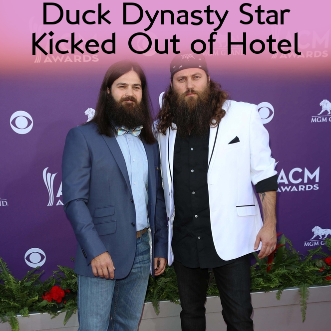 Duck Dynasty Star Jace Robertson Booted From Hotel & Season 4 Preview
