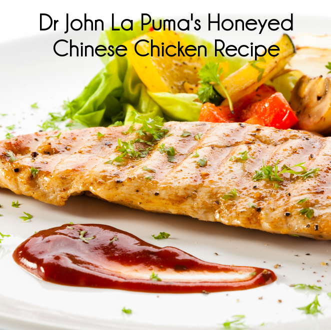 Dr John La Puma Honeyed Chinese Chicken & Cancer Fighting Marinade