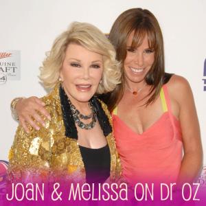 Dr Oz Talks to Melissa & Joan Rivers, Husband's Suicide & Bulimia