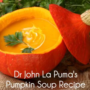 Dr John La Puma Pumpkin Soup Recipe + Dr Oz Pumpkin Puree Side Dish