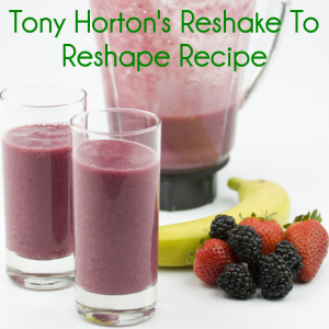 Dr Oz: Tony Horton Reshake to Reshape Recipe & 25 Second Grocery List