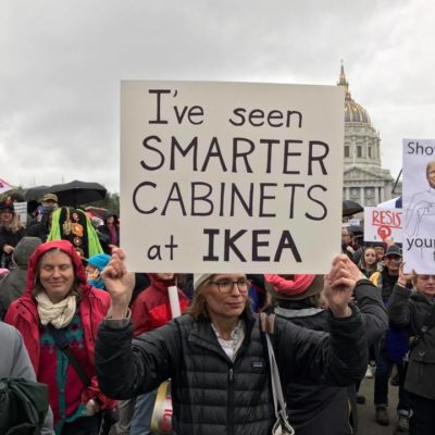 27 of the Funniest Signs at the Women's March