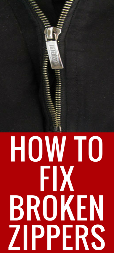 have a zipper that won 39 t close here 39 s how to fix it in 3 seconds. Black Bedroom Furniture Sets. Home Design Ideas