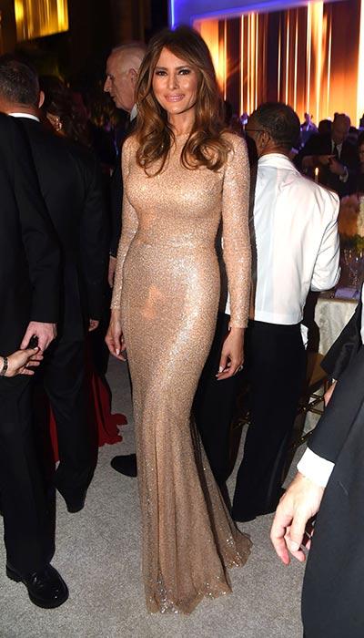 Melania-Trump-Reem-Acra-Gown