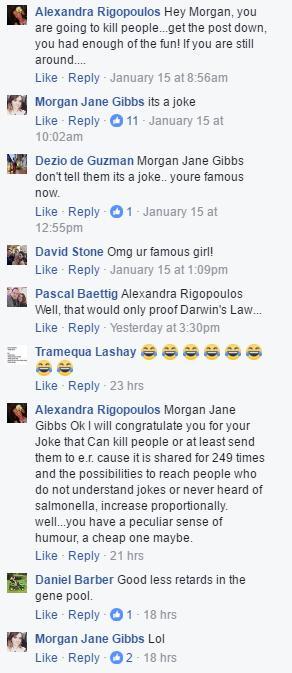 Morgan Jane Gibbs its a joke