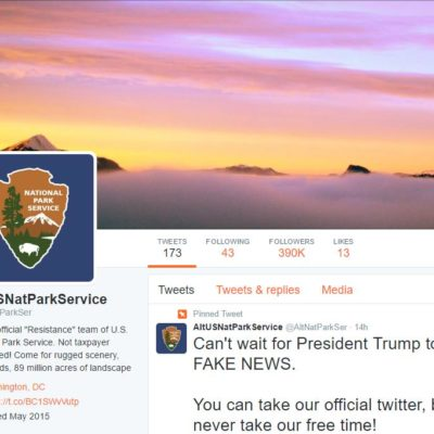 Mysterious National Park Twitter Account Steps Forward to Lead Resistance