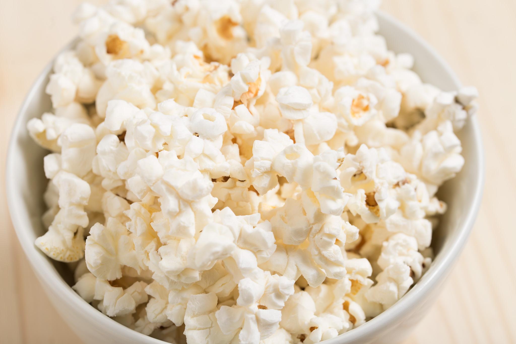 popcorn helps you poop