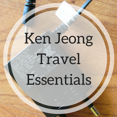 What Does Ken Jeong Pack When He Travels? How Many Chargers?!