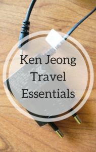 Dr Oz: What Are Ken Jeong's Travel Essentials? + Throat Lozenges